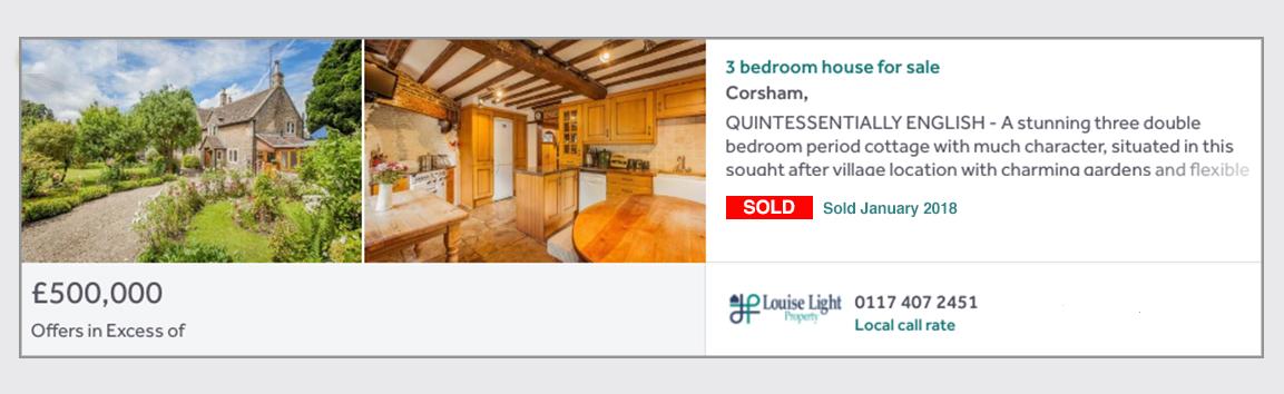 Sold Property Corsham