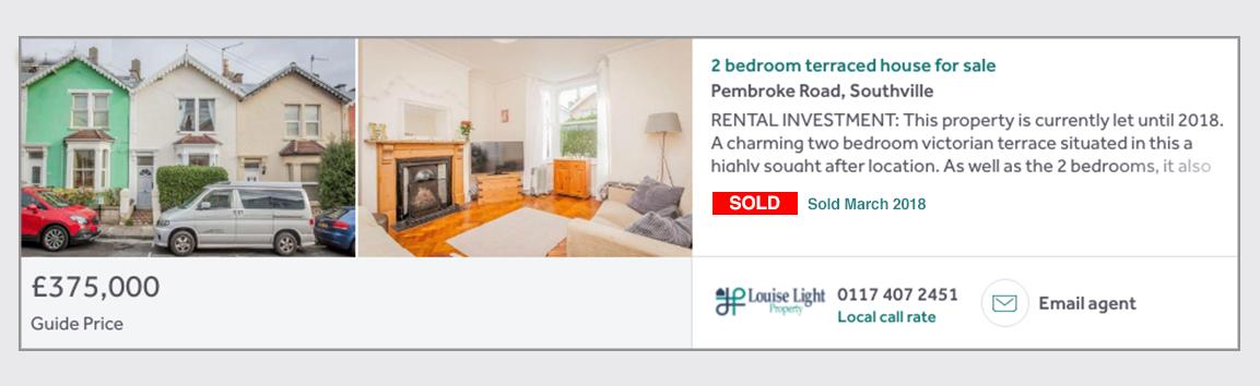 Pembroke Road Sold