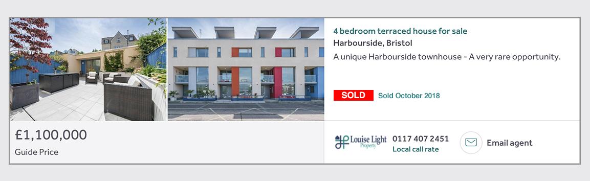 sold Harbourside bristol