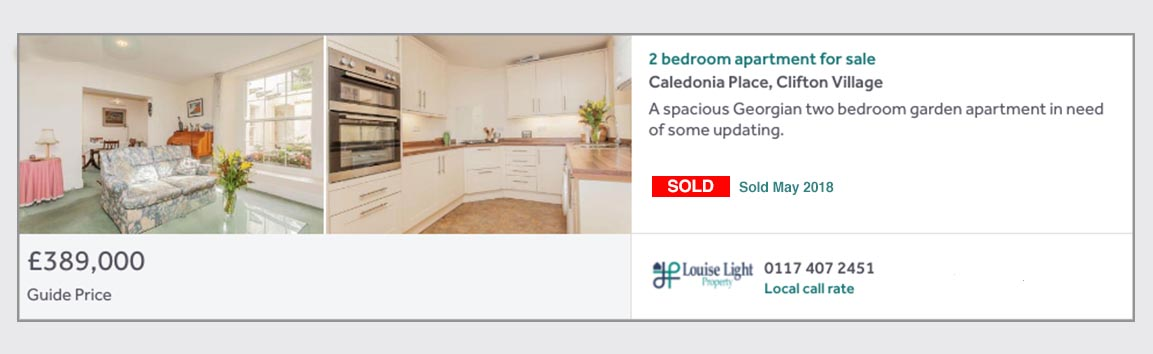 sold property 13 caledonia place