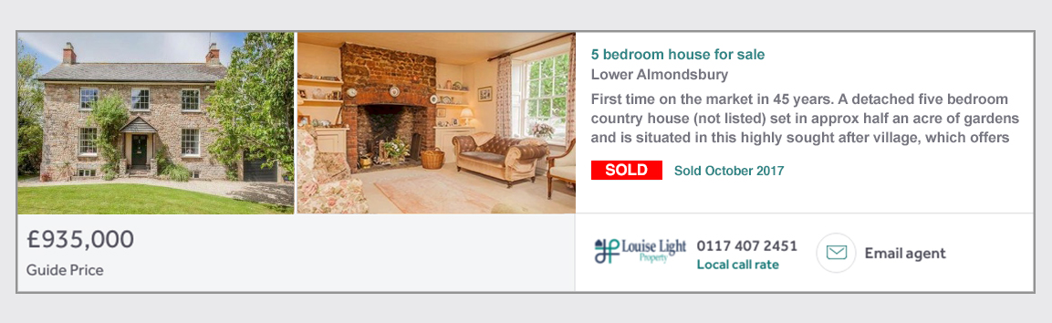 Lower Almondsbury Sold