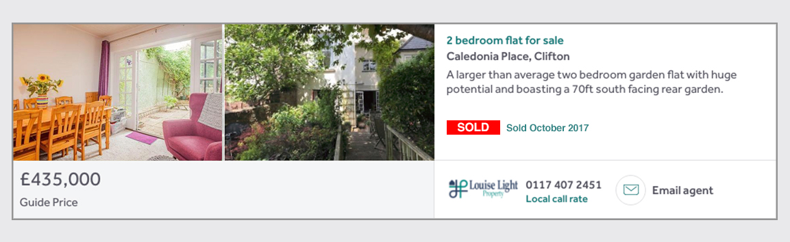 Caledonia Place Sold