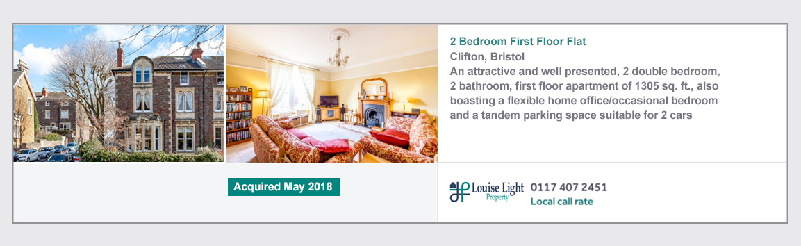 2 bed first floor flat