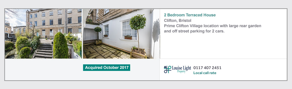 2 bedroom terrace