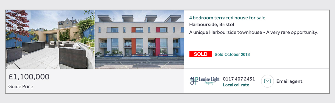 sold Harbourside bristol